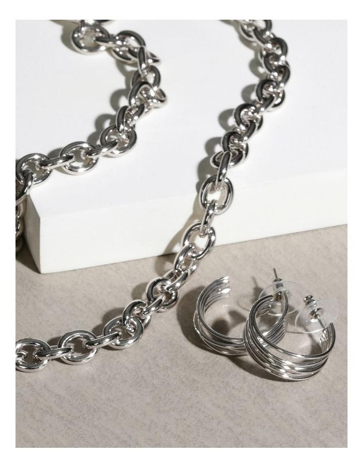 Lisa Hoop Earrings image 3
