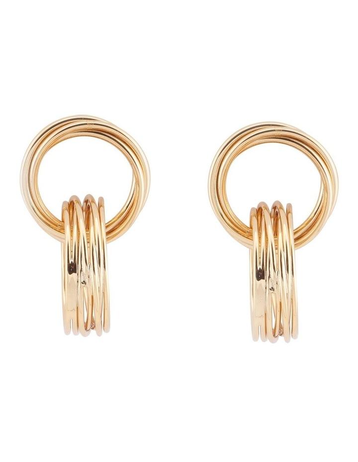 Moree Drop Hoop Earrings image 1
