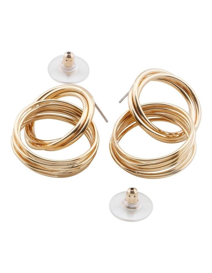 Moree Drop Hoop Earrings image 2
