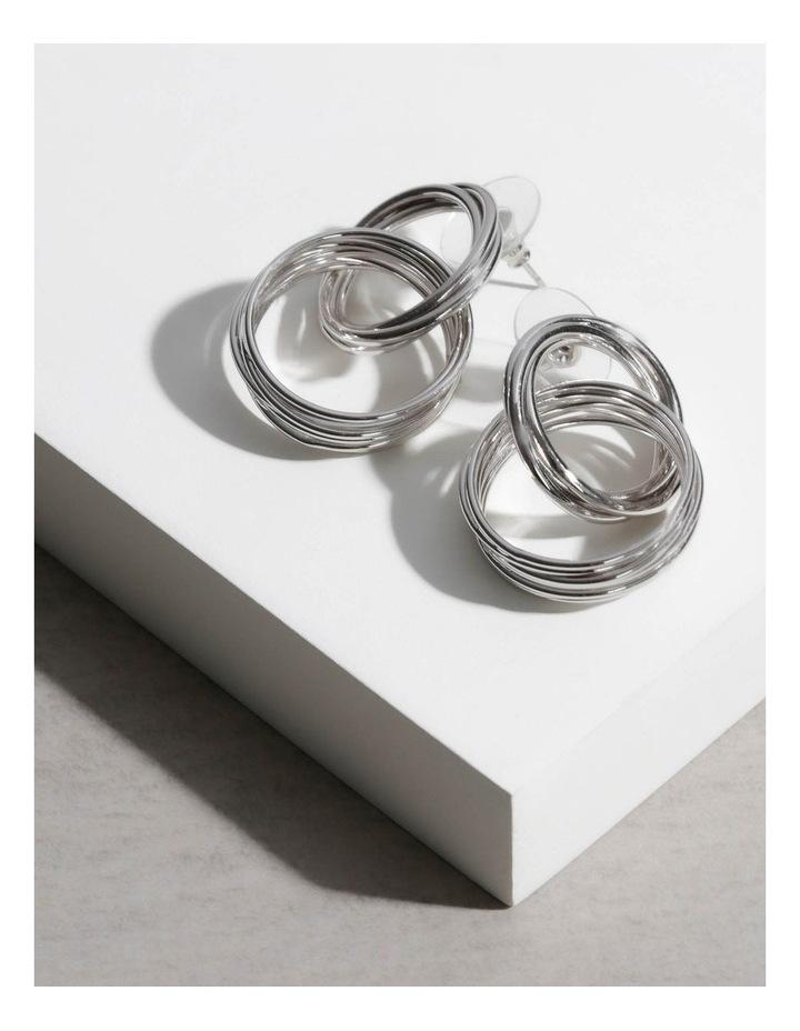 Moree Drop Hoop Earrings image 3