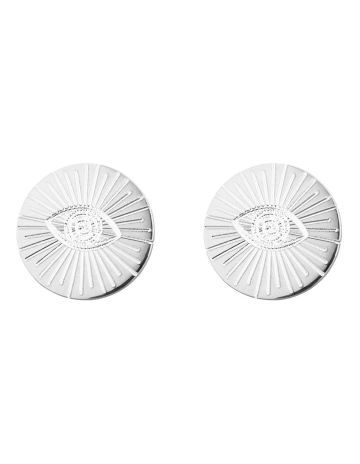 Eye of Providence & Protection 1.0 Stud Earrings image 1
