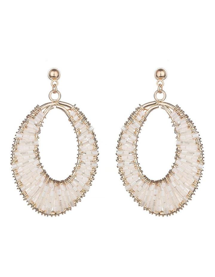 Drop Beaded Earrings image 1