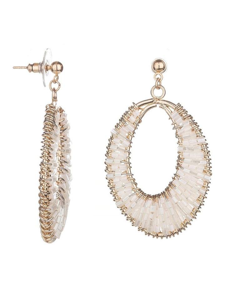Drop Beaded Earrings image 2