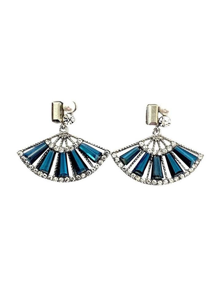 Drop Fan Earrings image 1