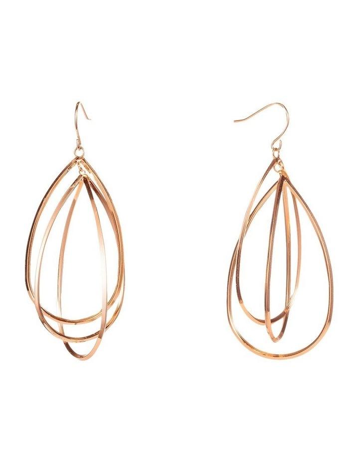 Orbital Drop Earrings image 2