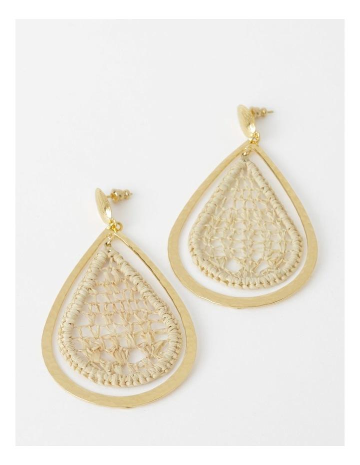 Bibis Raffia Earrings image 1