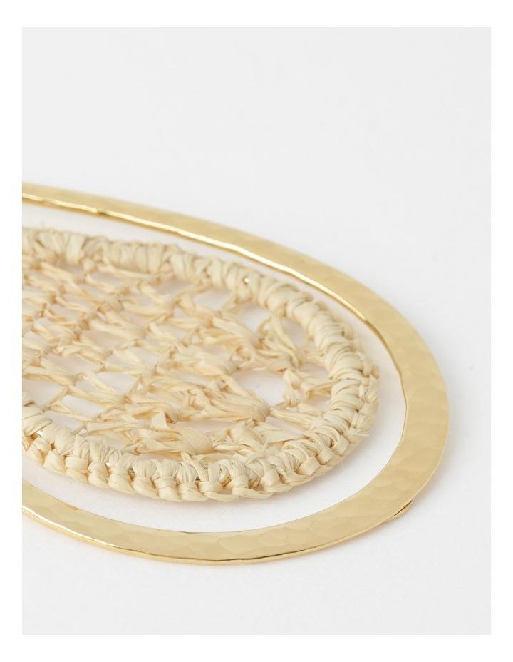 Bibis Raffia Earrings image 2