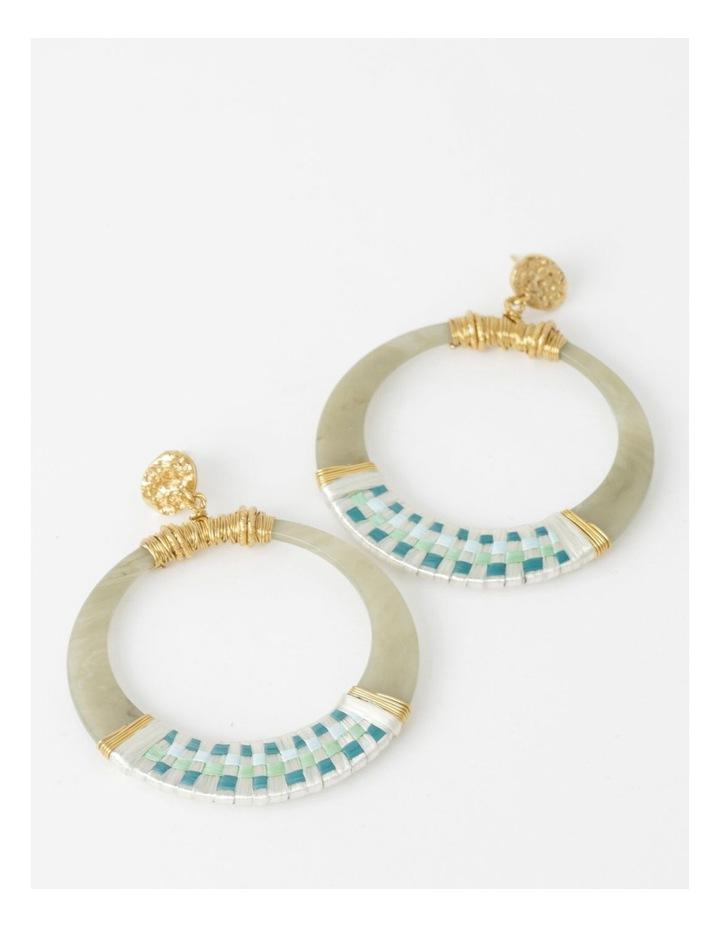 Lodge Raffia Earrings image 1