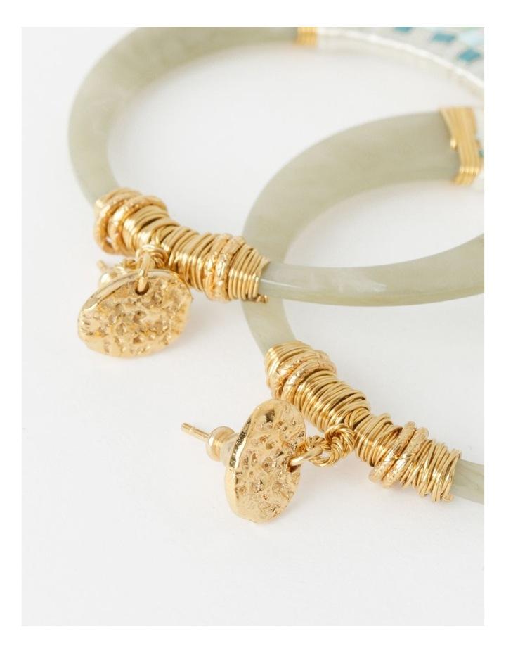 Lodge Raffia Earrings image 3