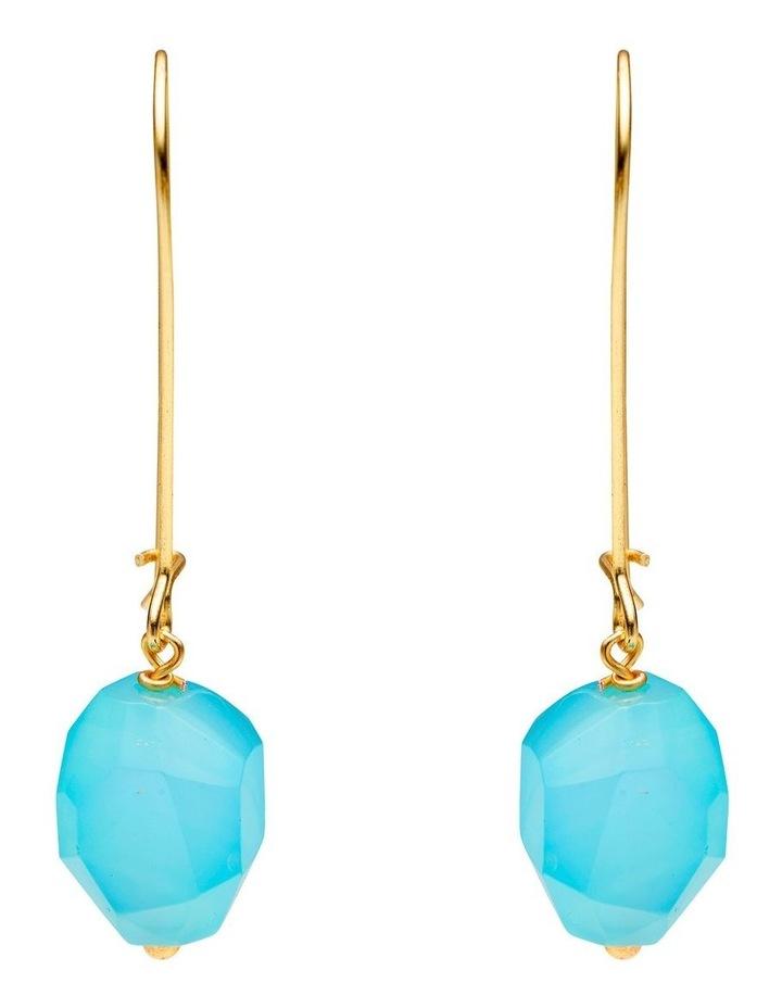 Blue Glow Earrings image 1