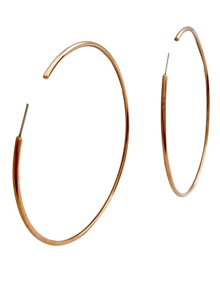Bari Rose Gold Earring image 2