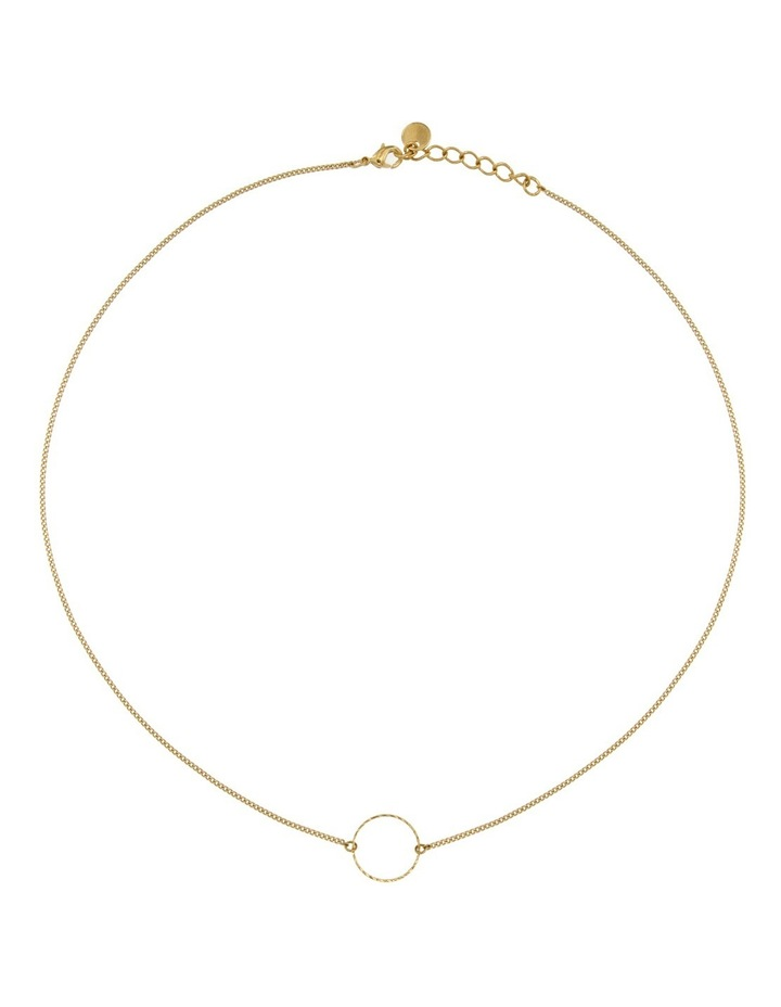 EN1 Eternity Necklace:Gold image 1