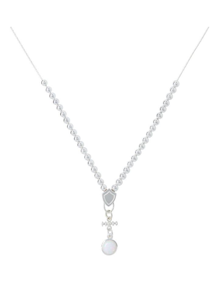Von Treskow VTON07R Celline Opal Pendant 42cm Necklace image 1