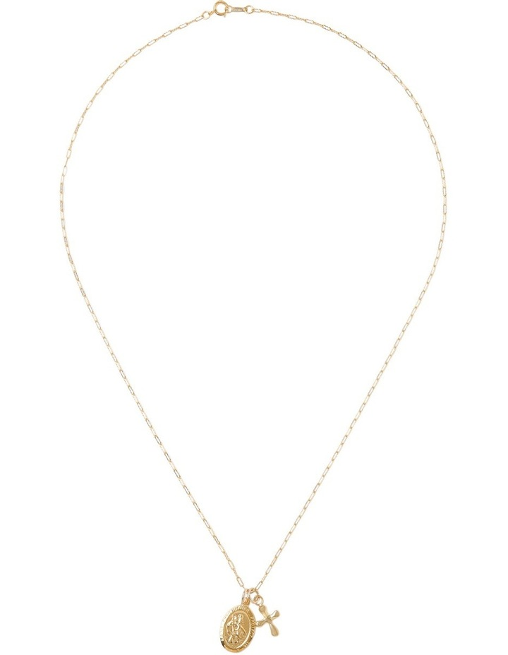 Yellow Gold-Filled Flat Filigree Chain Necklace image 2