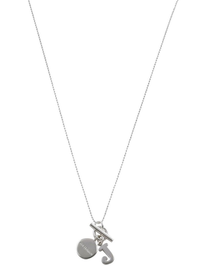 Initial 'J' Necklace image 1