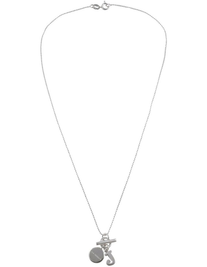 Initial 'J' Necklace image 2