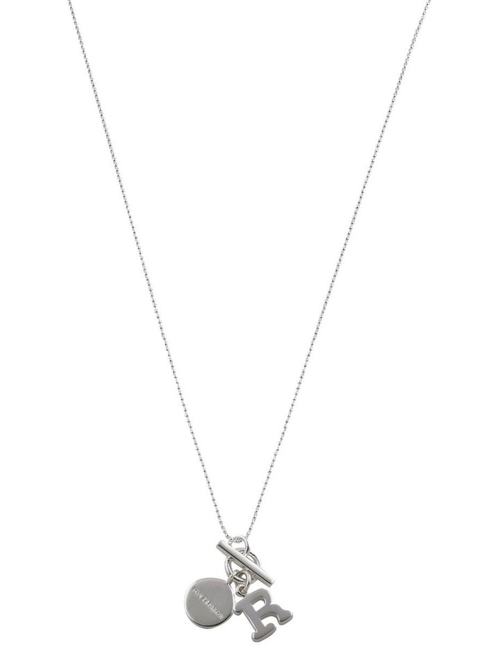 Initial 'R' Necklace image 1