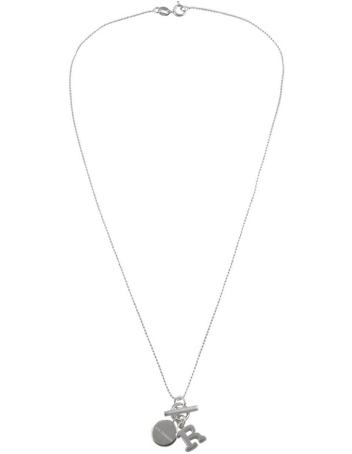 Initial 'R' Necklace image 2
