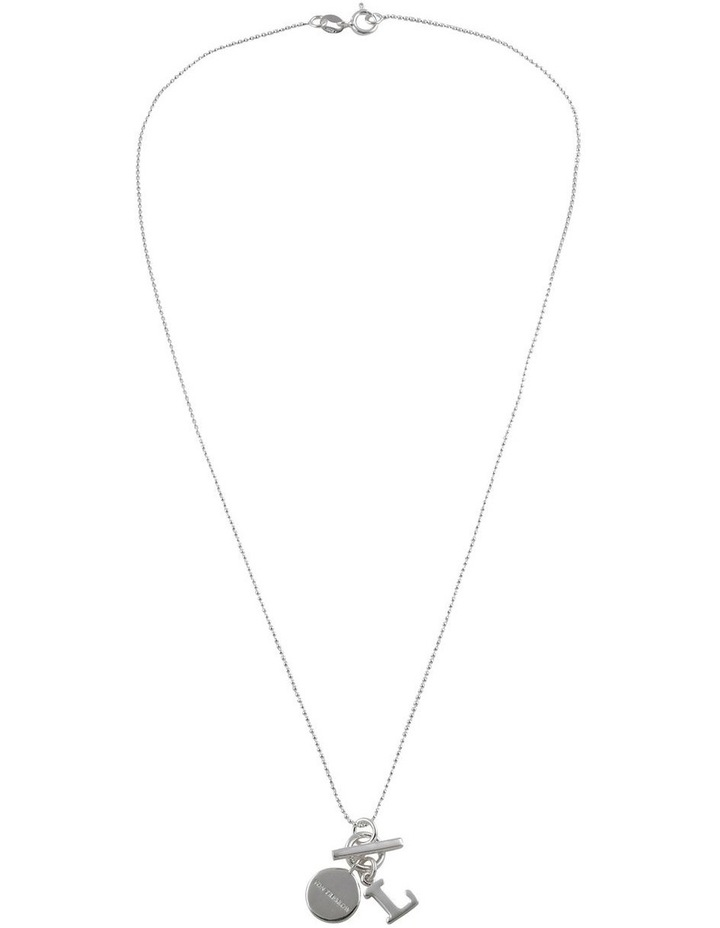 Initial 'L' Necklace image 2