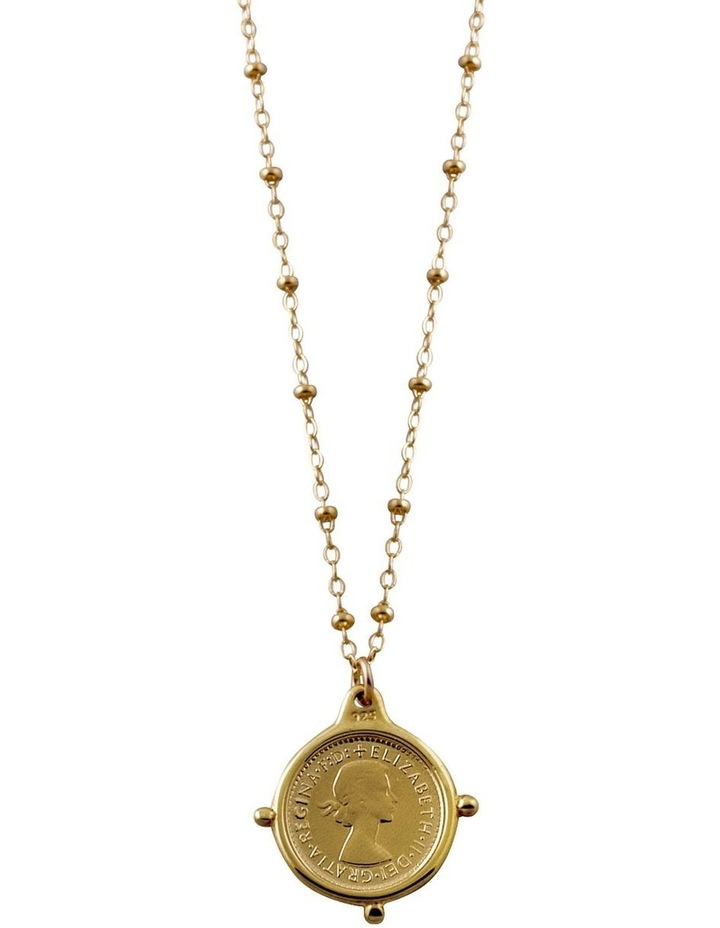 Rosario Necklace with threepence image 1