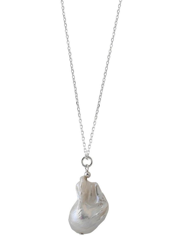 Large Baroque Pearl Necklace image 1
