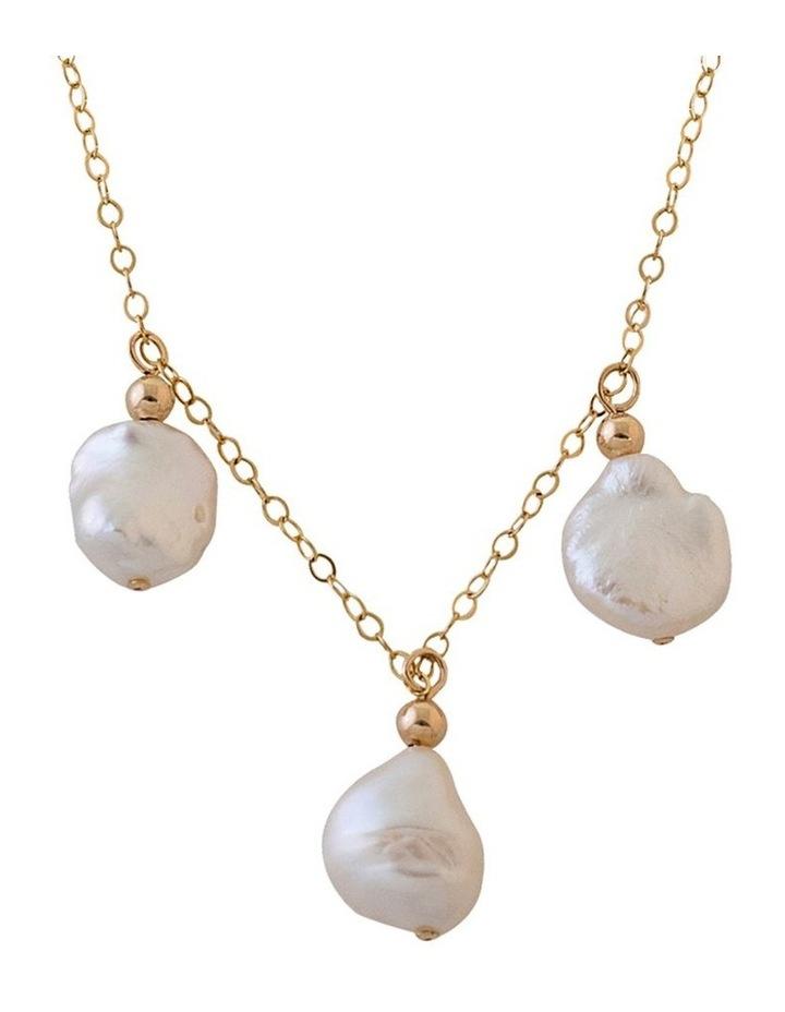 Keshi Pearl Trio Necklace image 2