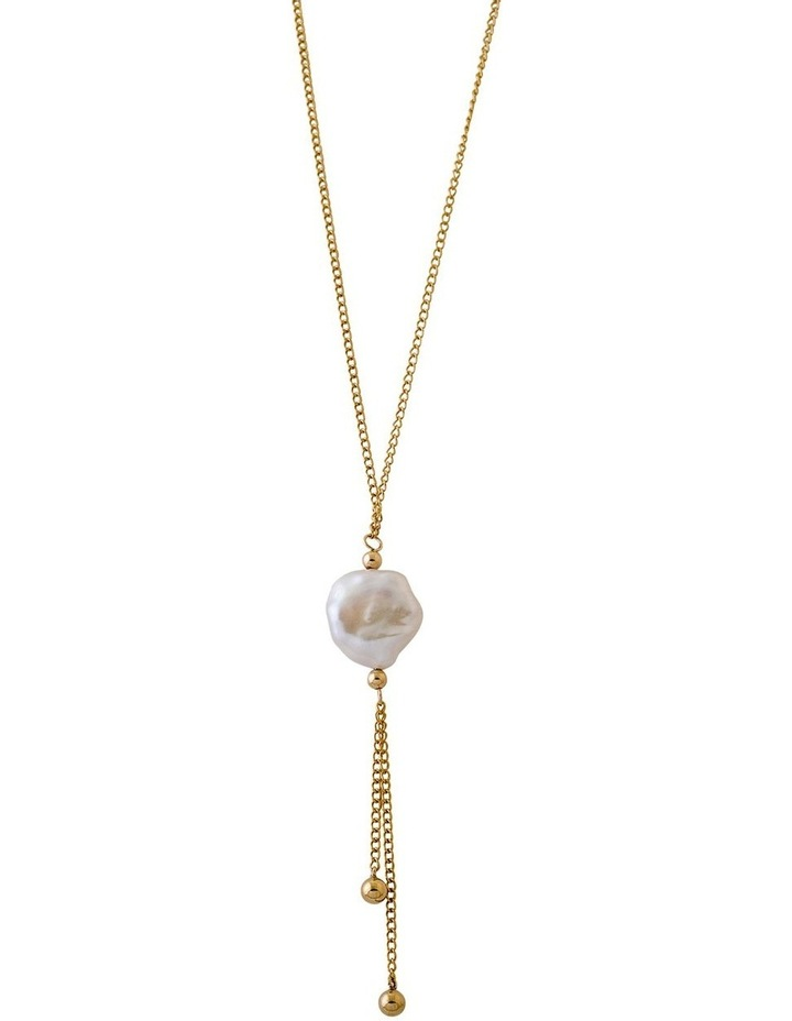 Keshi Pearl Drop Necklace image 1