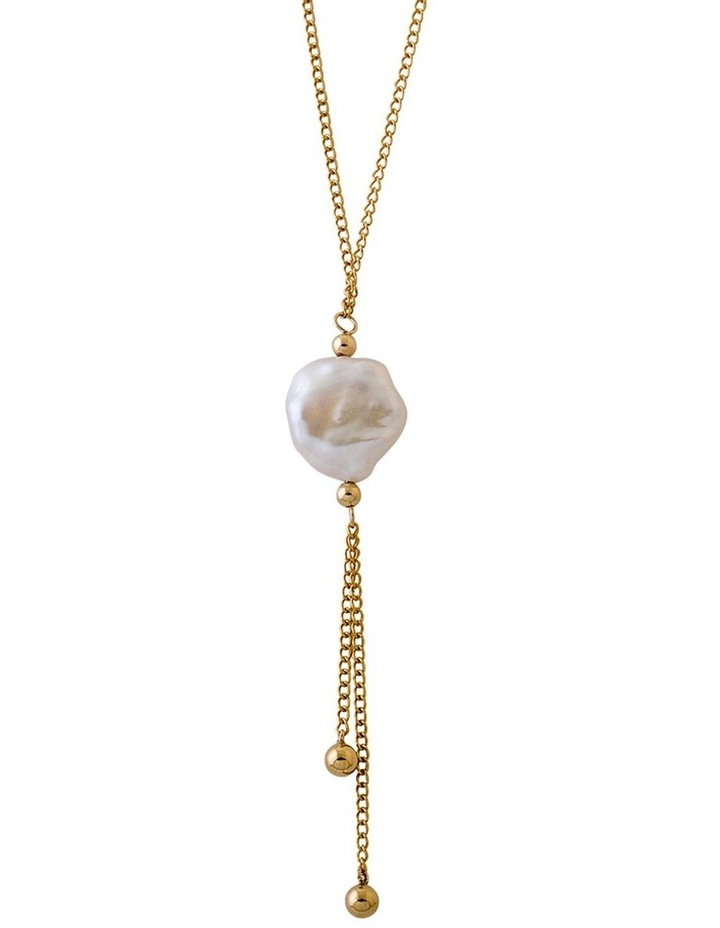 Keshi Pearl Drop Necklace image 2