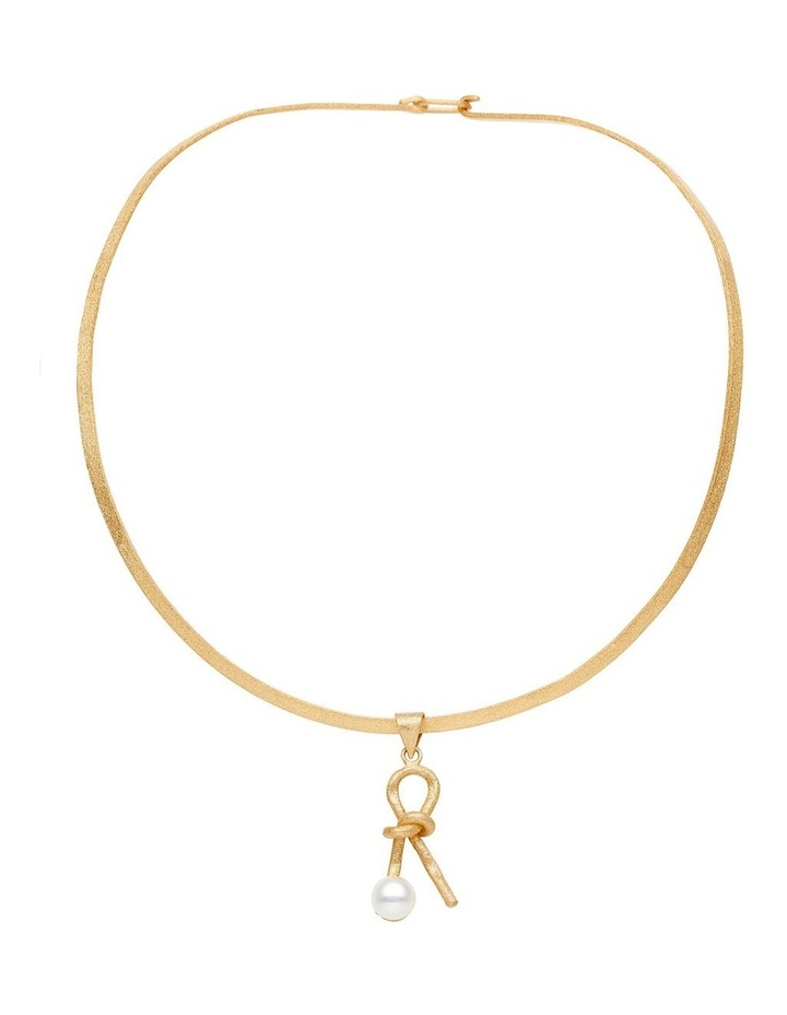 Pearl Knot Necklace image 1