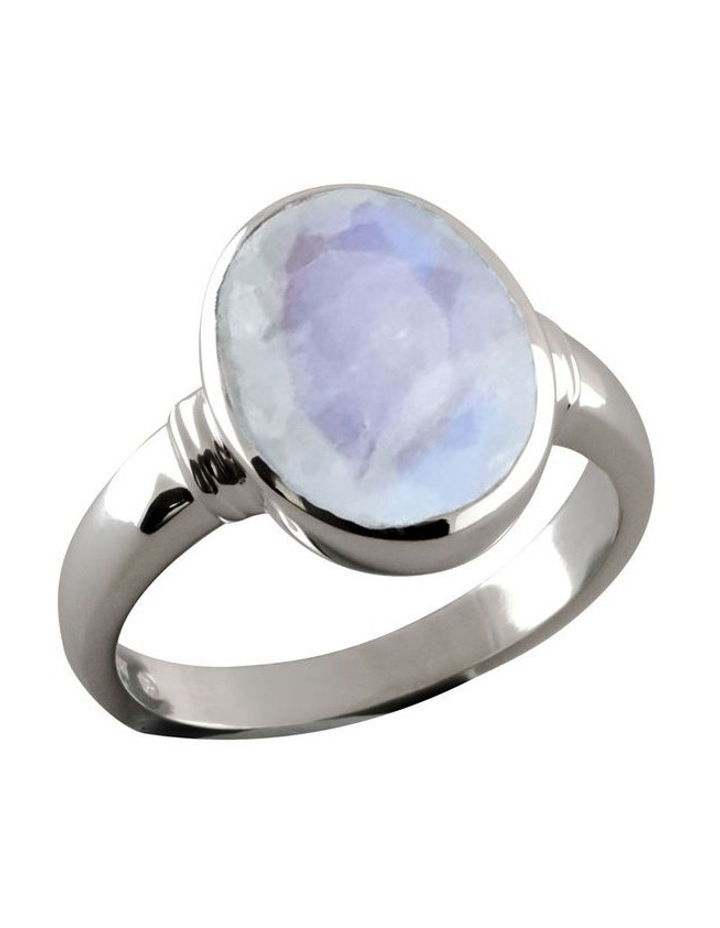 Oval Moonstone Ring image 1