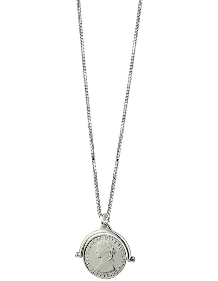 Coin Flip Necklace With Box Chain image 1