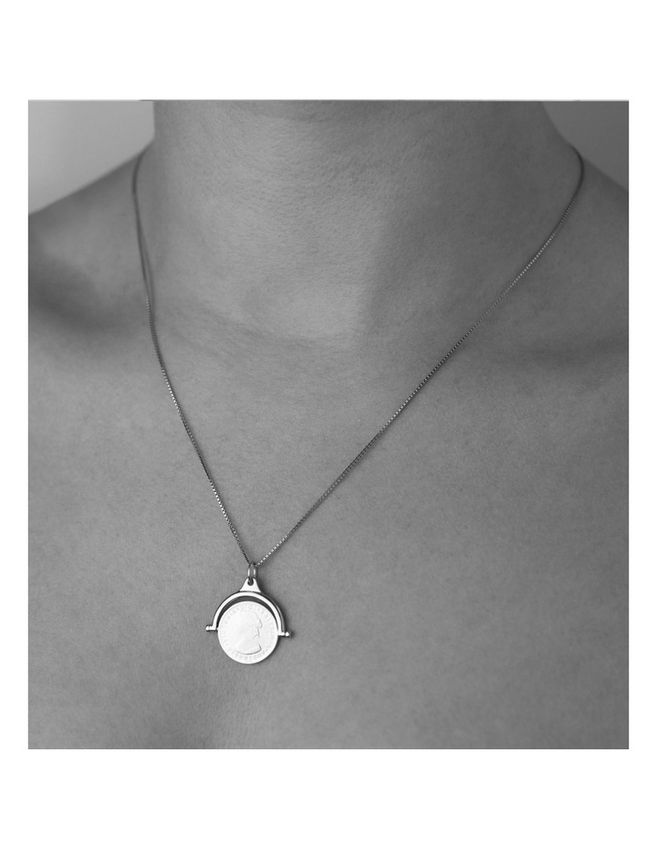 Coin Flip Necklace With Box Chain image 2