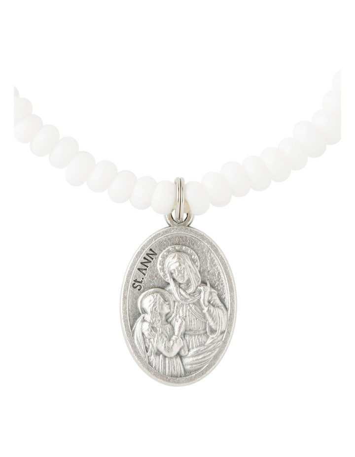 SAINTB1 Saints Bracelet White image 2