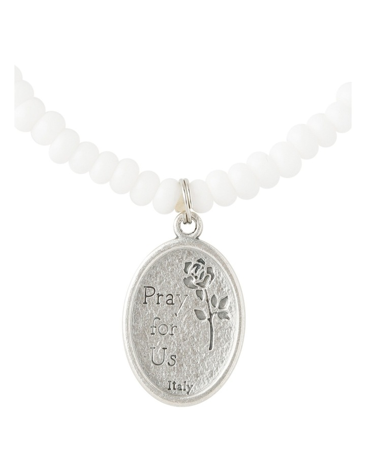 SAINTB1 Saints Bracelet White image 3