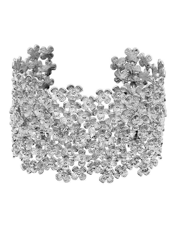 Silver Plate Cuff by Carolyn Roberts
