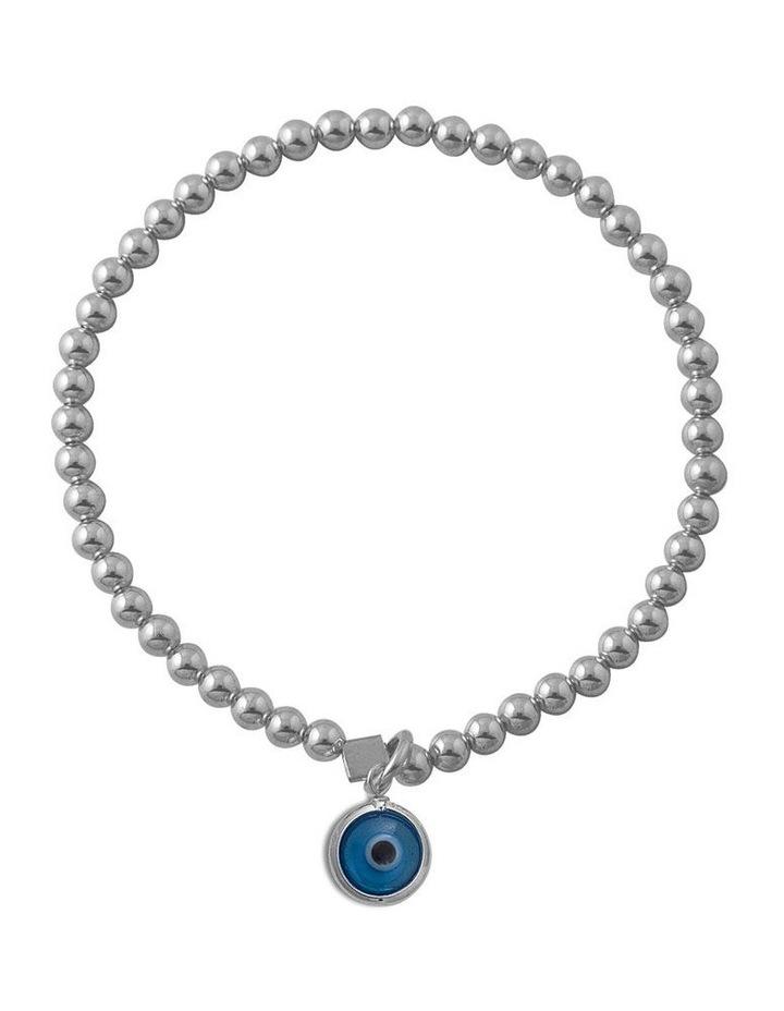 Stretchy bracelet with Evil Eye image 1