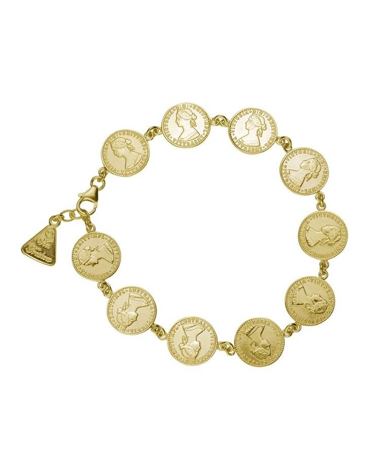 Mini Coin Eternity Bracelet image 1