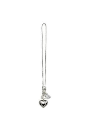 Von Treskow - Sterling Silver Heart Pendant with Fob Clasp