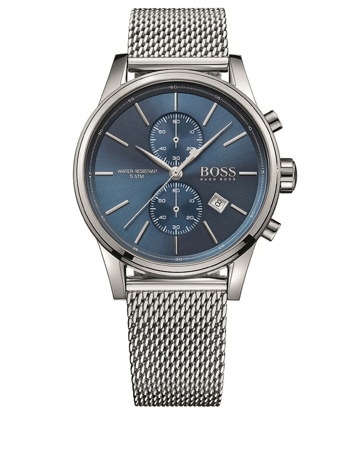 1513441 Jet Mesh Watch image 1