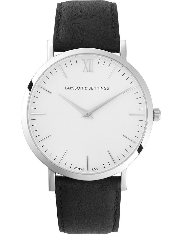 LGN40-LBLK-C-Q-P-SW-L Lugano 40mm Watch image 1
