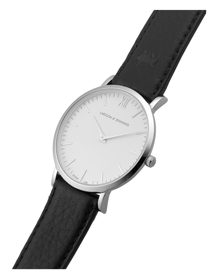 LGN40-LBLK-C-Q-P-SW-L Lugano 40mm Watch image 2
