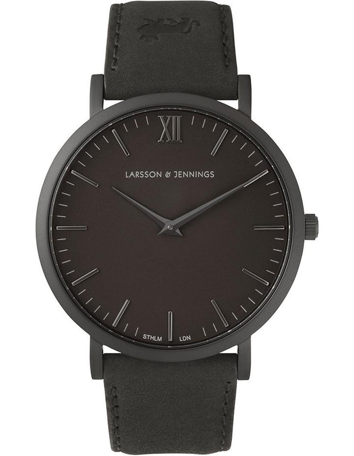 Lugano 40mm Watch LJ-W-SVART-L-BB image 1