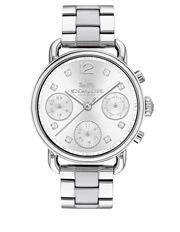 Coach - Delancey Silver Watch 14502942