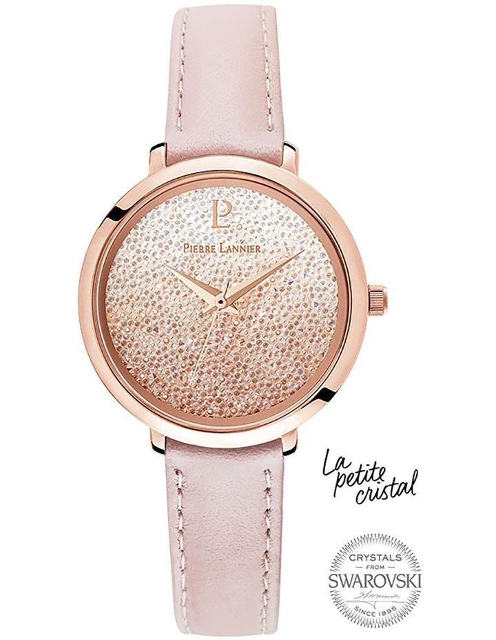 108G955 Pink Swarovsk Pink Leather image 1