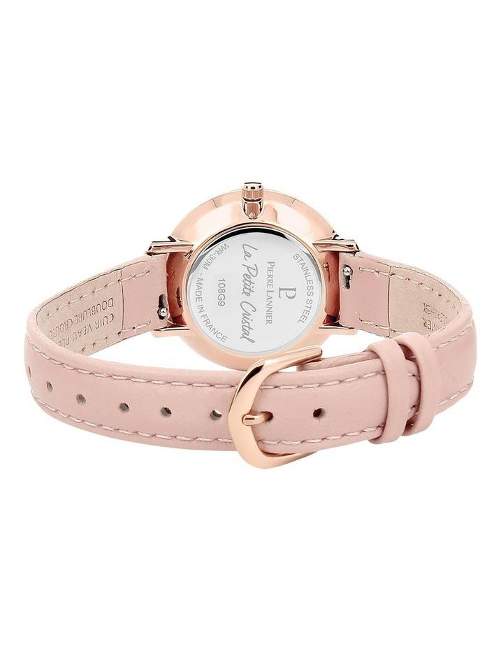 108G955 Pink Swarovsk Pink Leather image 2
