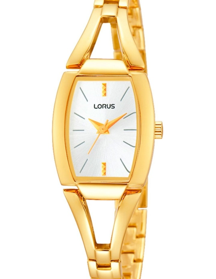 Rrs36Ux-9 Gold Curved Rectangle Dress Watch image 1