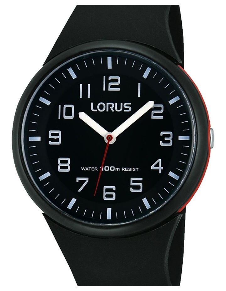 Rrx47Dx-9 Black & Red Sports Watch image 1