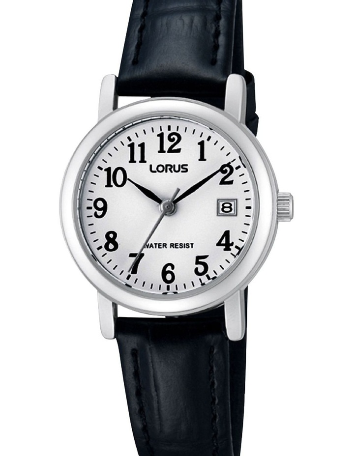 Rh765Ax-9 Full Figure Silver Dress Watch image 1