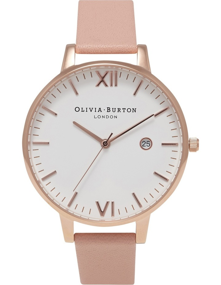Timeless Dusty Pink & Rose Gold Watch image 1