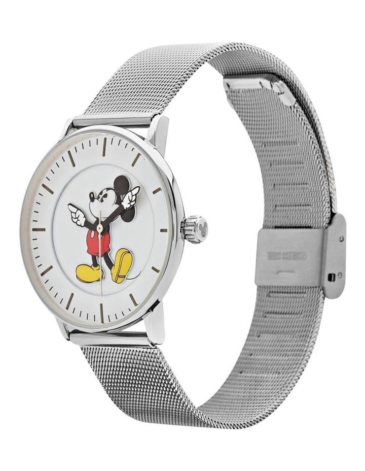 Formal Mickey 40mm Silver Mesh image 2